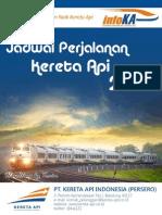 eBook Jadwal Perjalanan Kereta Api KAI 2013