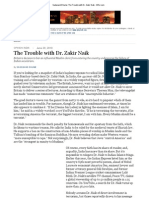 Sadanand Dhume_ the Trouble With Dr. Zakir Naik - WSJ