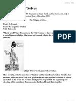 Dennett the Origins of Selves