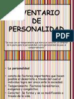 Inventario de Personalida