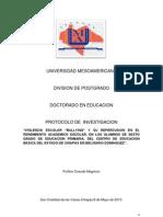 Protocolo de Porfirio Ovando