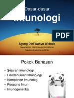 Dasar Imunologi Fkm 2009