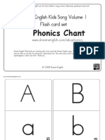 Phonics Chart for English Year 1 KSSR