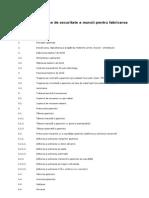 Norme Specifice de Securitate a Muncii Pentru Fabricarea Geamului