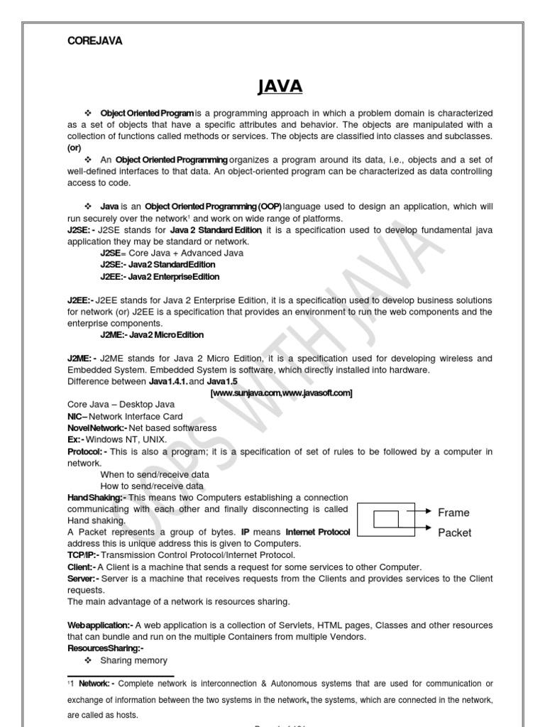 Complete core java tutorial pdf image collections any tutorial corejava inetsolv java virtual machine java programming language baditri image collections baditri Image collections