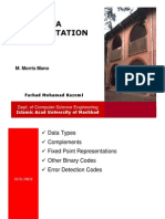 3- Data Representation