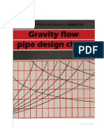 Gravity Flow Pipe Design Chart