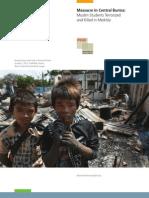 PHR Burma Meiktila Massacre Report May 2013