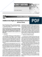 Analisis de Las Reglas de Presentacion de Los Eeff 1a Parte