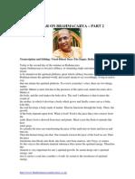 Seminar on Brahmacarya Part-2
