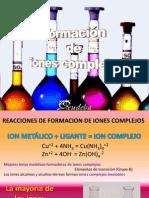 08 Formacion de Iones Complejos
