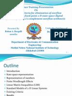 Presentation on 2-d Digital filters