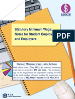Hong Kong Statutory Minimum Wage Guide