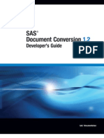 SAS Document Conversion