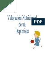 VALORACIÓN NUTRICIONAL DE UN DEPORTISTA FINAL