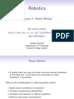Robotics Motion