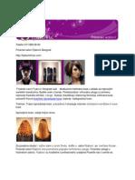 Ispravljanje punjenje kose keratinom