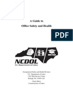 Guide to Office Safety and Health -- Dept of Labour