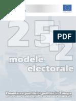 25plus2 Modele Electorale IV Finantarea Partidelor Politice in Europa