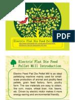 Electric Flat Die Feed Pellet Mill