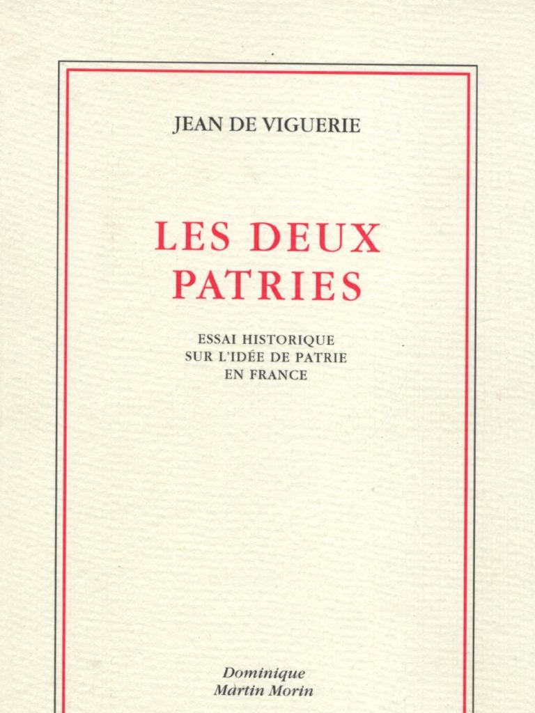 Viguerie Jean De Les Deux Patriespdf