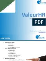 Company Profile -- ValeurHR E-Solutions Pvt Ltd