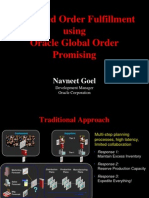 Order Fulfillment Using GOP