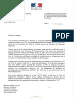Courrier_MinistèreRedressementProductif_TNT