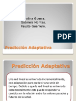 Predicción Adaptativa