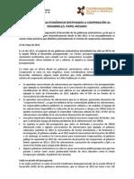 Nota Presupuestos CCAA 2013