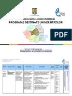 finantari universitati