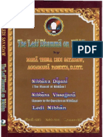 The Ledi Dhamma on Nibbana