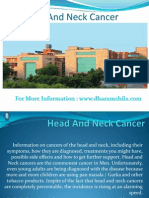 Head and Neck Cancer treatment centre in India