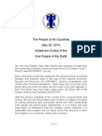Initiation Order of the One People