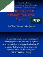 DISTRIBUIÇÃO E ARMAZENAGEM - UNIP 3ª PARTE