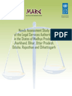 Needs Assessment Study