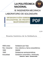 1. INTRODUCCIÓN GENERAL A LA TECNOLOGÍA DE LA  SOLDADURA