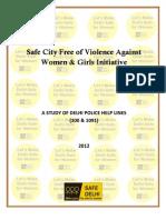 Delhi Police Helpline Study Jagori Marg