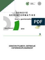01 Uvod u Geoinformatiku 02092010