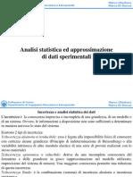Statistica Approssimazione Dati