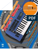 Yamaha Cs1x Owners Manual