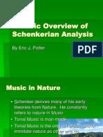 A Basic Overview of Schenkerian Analysis