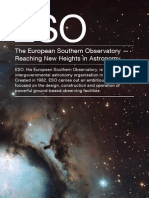 The European Southern Observatory – Reaching New Heights in Astronomy