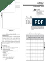Ro105 User Manual