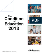 The Condition of Education 2013