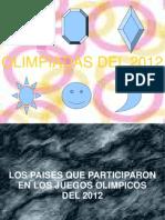 Las olímpiadas 2012