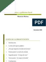 Etica Gobierno Local Merino