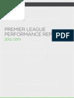 Premier League Report 2013