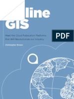 Online GIS - Meet the Cloud Publication Platforms That Will Revolutionize Our Industry