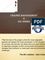 Change Management & 6 Sigma